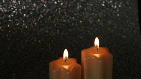 Bożenarodzeniowe świeczki zbiory wideo