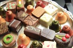 Bożenarodzeniowe czekolady zdjęcie royalty free