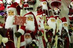 Bożenarodzeniowe dekoracje - Święty Mikołaj Zdjęcia Stock