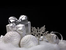 Bożenarodzeniowe dekoracje Fotografia Royalty Free