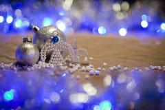 Bożenarodzeniowe dekoracje z aniołami Zdjęcie Stock