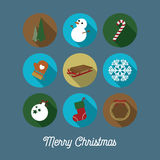 Bożenarodzeniowe ikony/kartka bożonarodzeniowa Zdjęcie Royalty Free