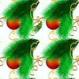 Bożenarodzeniowej abstrakcjonistycznej dekoracyjnej bezszwowej tkaniny tekstury Tapetowy świąteczny tło Zdjęcie Stock