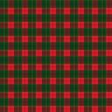 Bożenarodzeniowej zima wakacje karty dekoracji szkockiej kraty Szkocja Ornamentacyjny tło, w kratkę lampasy czerwień, zieleń wzór ilustracja wektor