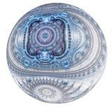 Bożenarodzeniowej zimy o temacie ornament Zdjęcia Royalty Free