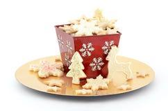 Bożenarodzeniowi ciastka Obraz Stock