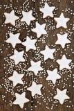 Bożenarodzeniowi ciastka Zdjęcie Royalty Free