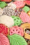 Bożenarodzeniowi ciastka (zbliżenie) Zdjęcie Stock