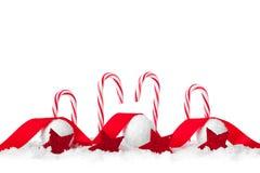 Bożenarodzeniowi cukierki odizolowywający na białym tle Fotografia Royalty Free