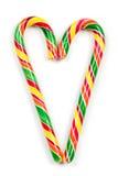 Bożenarodzeniowi cukierki odizolowywający na białym tle Zdjęcie Royalty Free