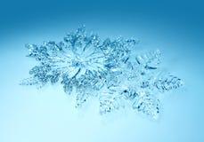 Bożenarodzeniowi dekoracja płatki śniegu Obrazy Royalty Free