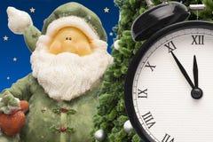Bożenarodzeniowi koralików zegarki, prezenty i fotografia royalty free