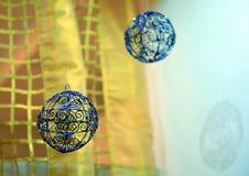 Bożenarodzeniowi ornamenty, Wesoło boże narodzenia Fotografia Royalty Free