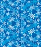 Bożenarodzeniowi płatki śniegu świąteczny Pattern_10 Fotografia Royalty Free