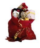 Bożenarodzeniowi prezenty i telefon Obrazy Royalty Free