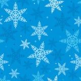 Bożenarodzeniowy świąteczny wzór Snowflakes_03 Obrazy Stock