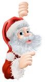 Bożenarodzeniowy Święty Mikołaj Zdjęcie Royalty Free