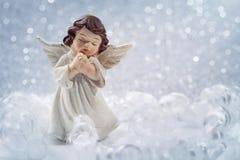 Bożenarodzeniowy anioł Fotografia Royalty Free