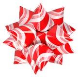 Bożenarodzeniowy cukierek trzciny łęk zdjęcie royalty free