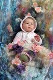 Bożenarodzeniowy dziecko zdjęcia royalty free