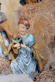 Bożenarodzeniowy figurki królewiątko Zdjęcia Royalty Free