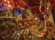Bożenarodzeniowy jarmark w Paryż. Obrazy Royalty Free