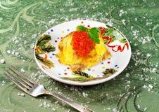 Bożenarodzeniowy jedzenie Obrazy Royalty Free