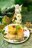 Bożenarodzeniowy jedzenie Faszerująca kapusta Obraz Royalty Free