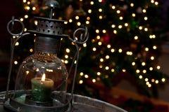 Bożenarodzeniowy lampion Zdjęcia Royalty Free
