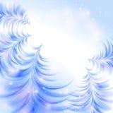 Bożenarodzeniowy lodowaty abstrakcjonistyczny tło ilustracja wektor