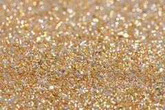 Bożenarodzeniowy nowego roku srebra i złota błyskotliwości tło Wakacyjna abstrakcjonistyczna tekstura Zdjęcia Royalty Free