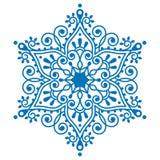 Bożenarodzeniowy płatka śniegu projekt, zimy broderia Obraz Royalty Free