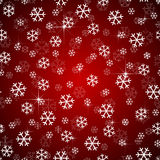 Bożenarodzeniowy płatka śniegu projekta wektor bezszwowy Obrazy Royalty Free