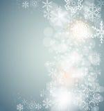 Bożenarodzeniowy płatka śniegu tła wektor Obraz Royalty Free