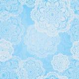 Bożenarodzeniowy płatka śniegu wzór Obraz Royalty Free