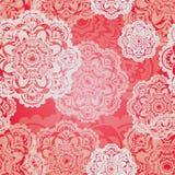 Bożenarodzeniowy płatka śniegu wzór Zdjęcie Royalty Free