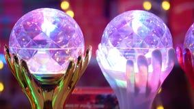 Bożenarodzeniowy piłki światło zbiory