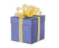 Bożenarodzeniowy prezent, przedstawia odosobnionego, tło Fotografia Stock