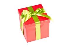 Bożenarodzeniowy prezenta pudełko Zdjęcia Stock