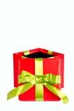 Bożenarodzeniowy prezenta pudełko Fotografia Royalty Free