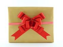 Bożenarodzeniowy prezenta pudełko Obrazy Royalty Free