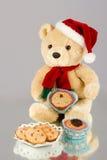 Bożenarodzeniowy słodka bułeczka Zdjęcie Royalty Free
