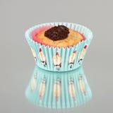 Bożenarodzeniowy słodka bułeczka z czekoladą Zdjęcia Royalty Free