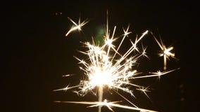 Bożenarodzeniowy Sparkler Z Błyszczącym świeceniem zbiory