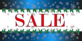Bożenarodzeniowy sprzedaż znak, ikona, biały tło Zdjęcie Royalty Free