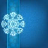 Bożenarodzeniowy tło i płatki śniegu Zdjęcie Stock