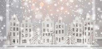 Bożenarodzeniowy tło papierowe dekoracje Xmas i Szczęśliwy Nowy YeChristmas tło papierowe dekoracje Xmas i szczęśliwy nowy rok zdjęcie stock