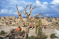 Bożenarodzeniowy Turecki drzewo Obrazy Royalty Free