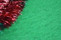 Bożenarodzeniowy wianek zieleni tło Obrazy Royalty Free