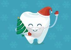 Bożenarodzeniowy ząb zdjęcie royalty free